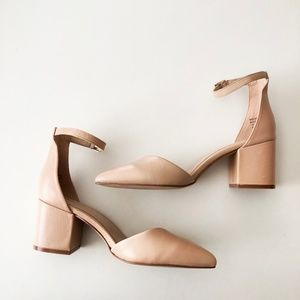 cef84945644 ALDO Shoes - Aldo Keclya Bone Pointy Block Heels
